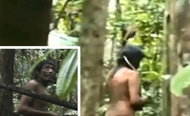 שבט הקאוואהיבה באמזונס (צילום: יוטיוב  ,צילום מסך youtube)