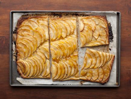 טארט תפוחים צרפתי לחג ההודיה