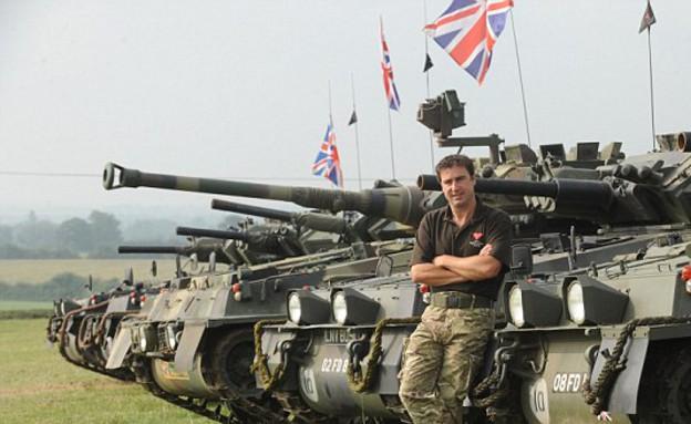 טנקים בחצר האחורית (צילום: קייטרס)