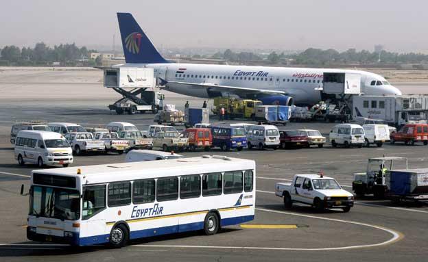 שדה התעופה בקהיר, ארכיון (צילום: AP)