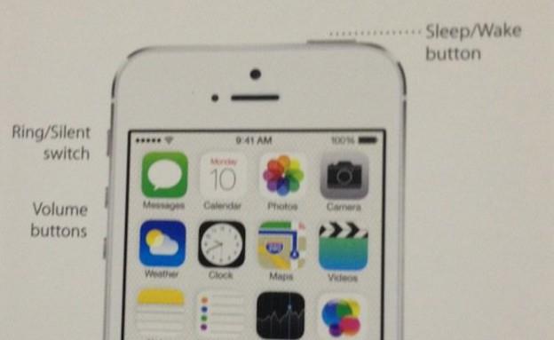 אייפון 5S, הוראות למשתמש