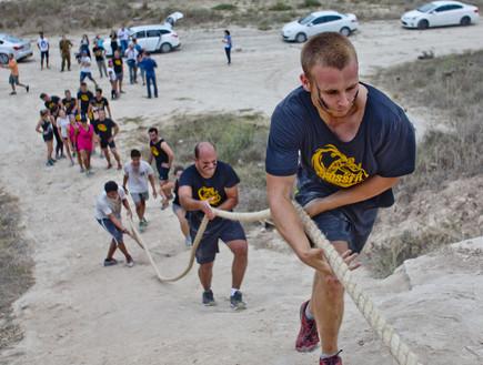 מסלול אתגרי- הירוצ'אלנג צילום רמי זרנגר, אירועי סוכות 2013