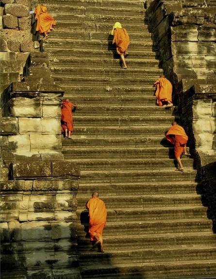 אנגקור, מדרגות בעולם, קרדיט אימג'בנק טינסטוק