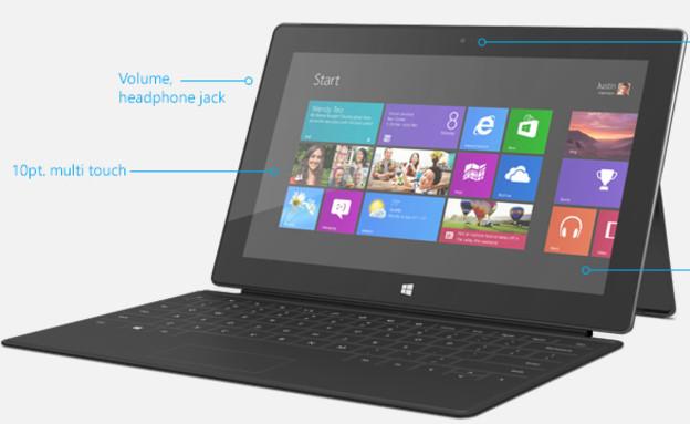 הפעם יצליח? טאבלט ה-Surface Pro 2 (צילום: מיקרוסופט ,מיקרוסופט)