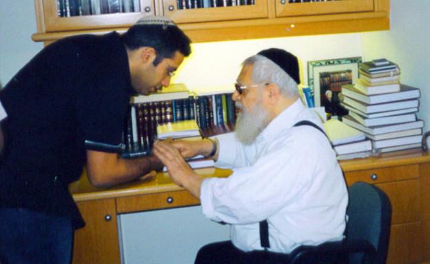 דודו כהן עם הרב עובדיה יוסף(צילום ביתי)
