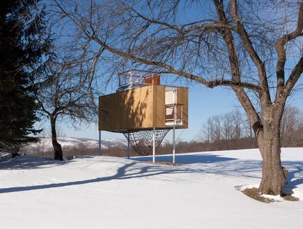 תחרות אדריכלים, בית עץ, צילום Elizabeth Felicella