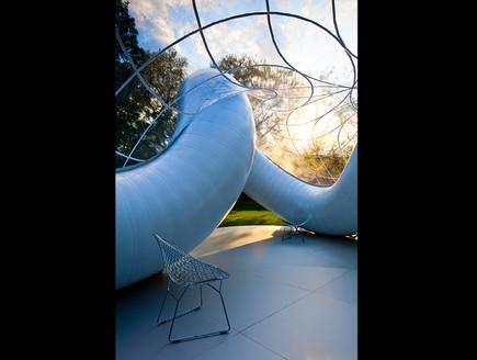 תחרות אדריכלים, גן מוזיאון גובה,  צילום Atelier Zündel Cristeajpg