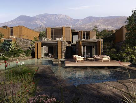 תחרות אדריכלים, דירת נופש טורקיה חוץ, צילום Cemal Emden