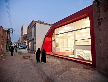 תחרות אדריכלים, חנות טהרן חלון, צילום Farshid Nasrabadi