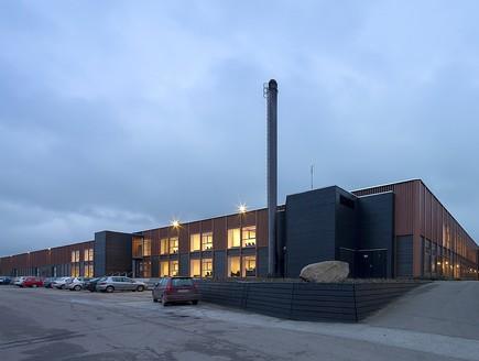 תחרות אדריכלים, מרכז לימוד חוץ, צילום Schmidt Hammer Lassen archit
