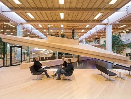 תחרות אדריכלים, מרכז לימוד, צילום Schmidt Hammer Lassen architects