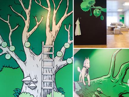תחרות אדריכלים, מרפאת ילדים ציור, Dan Pearlman Markenarchitektur G