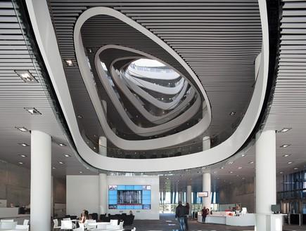 תחרות אדריכלים, ספריית אברדין תקרה, צילום Schmidt Hammer Lassen ar