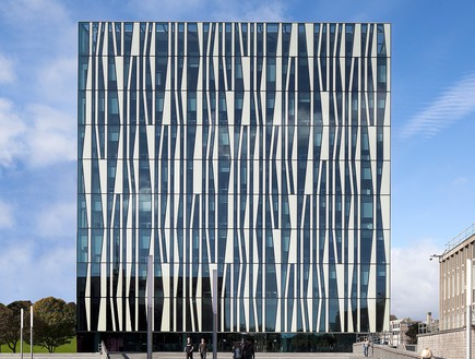תחרות אדריכלים, ספריית אברדין, צילום Schmidt Hammer Lassen archite