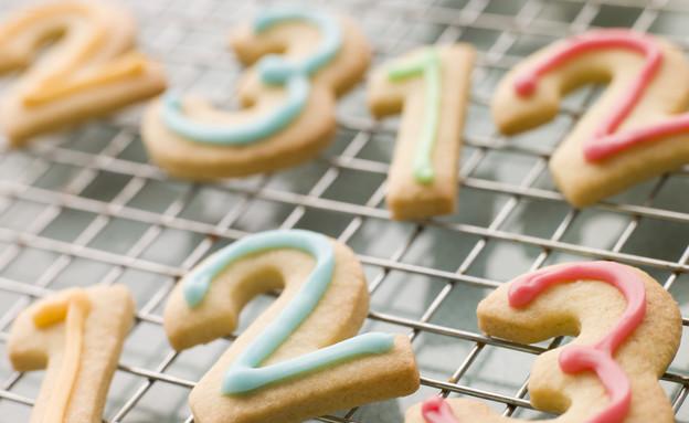 עוגיות בצורת מספרים (צילום: אימג'בנק / Thinkstock)