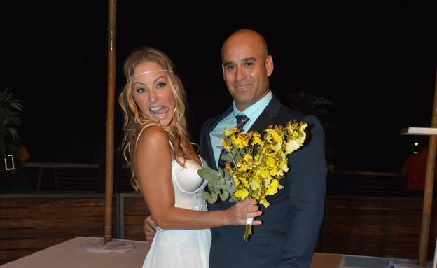 חתונה מעיין פורטר (צילום: צ'ינו פפראצי ,mako)