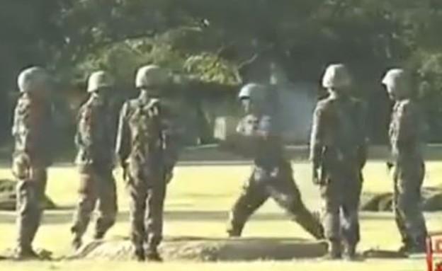אימון סיני מטורף (צילום: יוטיוב )