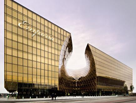 תחרות אדריכליםן, קניון שבדיה, צילום Tord-Rikard Söderström - Wingå