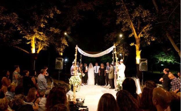 """חתונה בנחלה (אתר גן האירועים) (צילום: גן האירועים """"הנחלה"""")"""