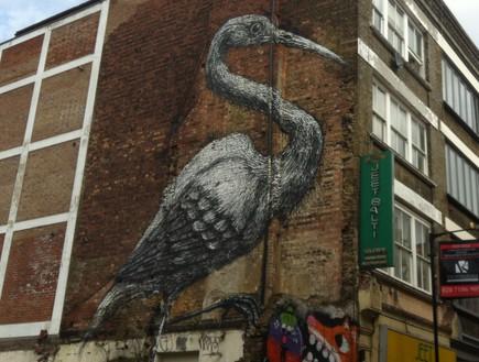 גרפיטי בשכונת שורדיץ' לונדון 2