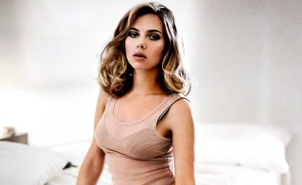 סקרלט ג'והנסון הכי סקסית  (צילום: מתוך מגזין esquire )