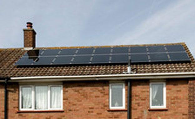 לוחות סולאריים של איקאה (צילום: IKEA)