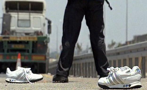 זירת התאונה, יולי 2011 (צילום: חדשות 2)