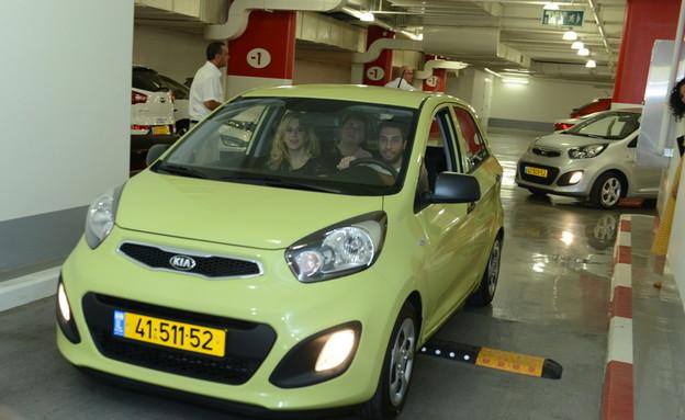 הזוכים ברכב: הכוכב הבא (צילום: שרון רביבו ,mako)