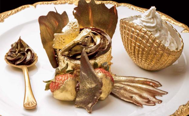 הקינוח היקר ביותר בעולם (צילום: האתר הרשמי של רשת ilovebloomsburys ,אוכל טוב)