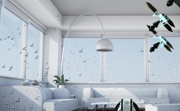 דבורים מנקות, סלון (צילום: electroluxdesignlab)