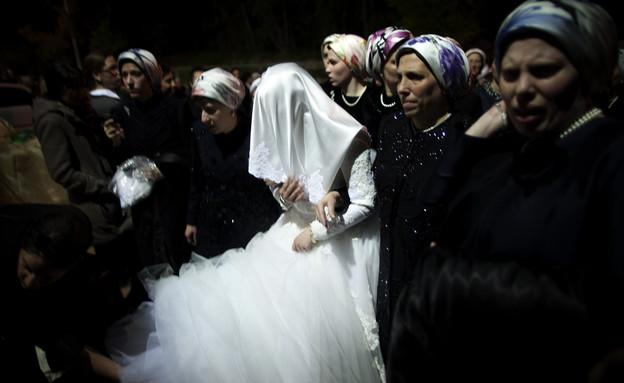 חתונה חרדית (צילום: ap ,ap)