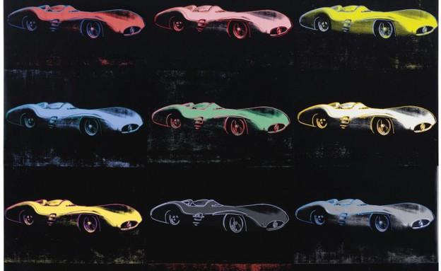 ציור מכונית של אנדי וורהול (צילום: יחסי ציבור)