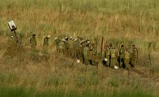 """לפני חצי שנה: חייל צה""""ל נהרג מפיצוץ מוקש (צילום: חדשות 2)"""