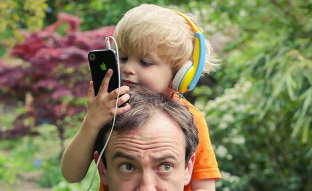 דיוויד בונד ובנו יוצאים לטבע (צילום: צילום מסך מאתר projectwildthing)