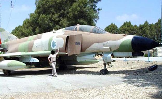 היסטוריה מפוארת, מטוס הפנטום (צילום: http://www.sky-high.co.il/)