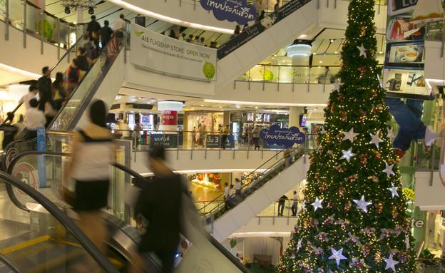קניון חג המולד (צילום: getty images ,getty images)