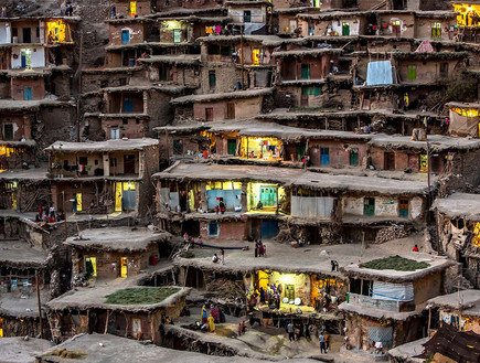 כפר בהר, אירן, כפרים יפים