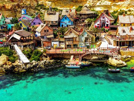 הכפר פופאי במלטה, כפרים יפים
