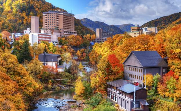 אי, יפן, שלכת 3 (צילום: אימג'בנק / Thinkstock)