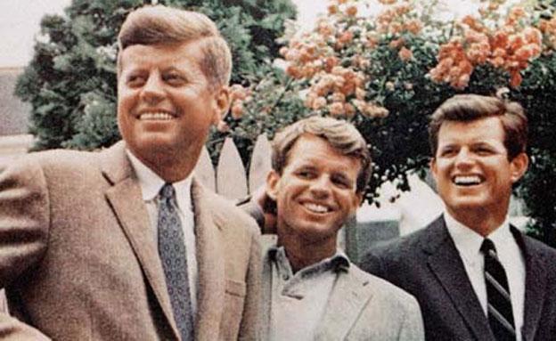 בני משפחת קנדי (צילום: AP)