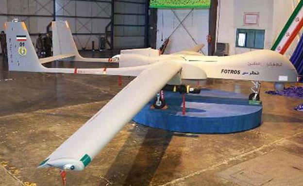 המטוס החדש שהוצג באירן (צילום: irna)