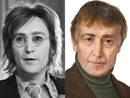 ג'ון לנון זקן (צילום: צילום מסך daily mail ,Sachs Media)