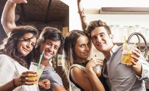 חבר'ה שותים לחיים (צילום: אימג'בנק / Thinkstock)