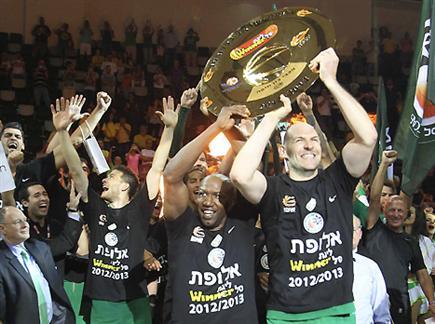 החגיגות יוקדמו ביום? בתמונה: חיפה זוכה באליפות אשתקד (אלן שיבר)