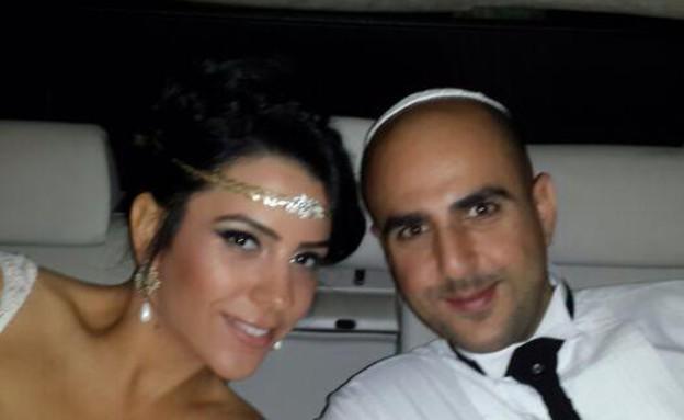 דרור אלפרון ואישתו הטרייה, צילום מסך מתוך פייסבוק (צילום: מתוך פייסבוק)