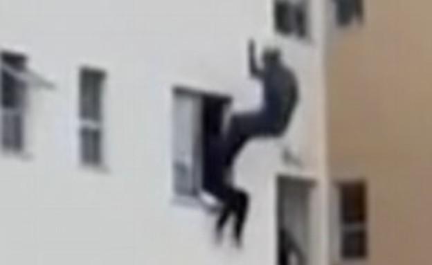 התאבדות בברזיל (צילום: יוטיוב )
