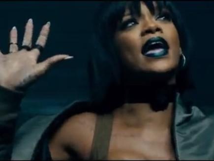 ריהאנה בקליפ monster (צילום: צילום מסך מתוך youtube)