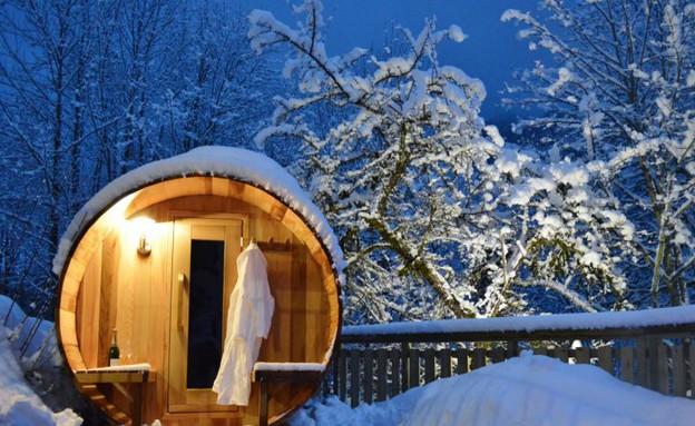 מבחוץ, אתר סקי צרפת (צילום: Alastair Sawday)