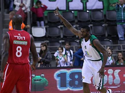 המשחק המדובר. סמית' מול ירושלים (צילום: אתר המנהלת)