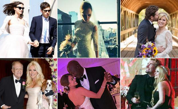 קולאז' טיימליין חתונות 2013